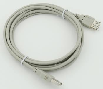 Кабель USB 2.0 Am-Af удлинитель 3м