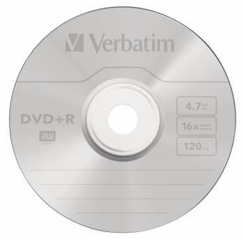 Диск DVD+R Verbatim 4.7Gb 16x (25шт) (43500)