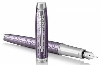 Ручка перьевая Parker IM Premium (1931636) Dark Violet CT