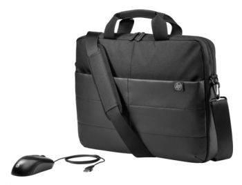"""Сумка для ноутбука 15.6"""" HP Classic Briefcase черный (1FK07AA)"""