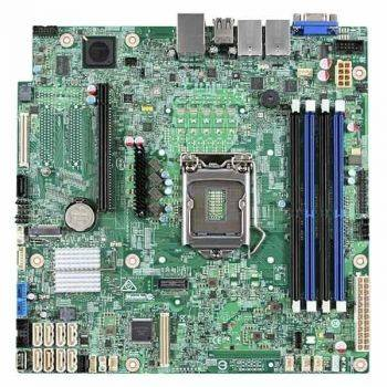 Серверная материнская плата Intel DBS1200SPSR uATX Ret