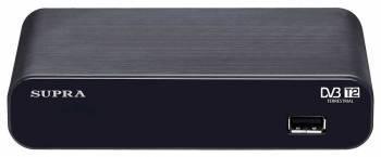 Ресивер DVB-T2 Supra SDT-93 черный