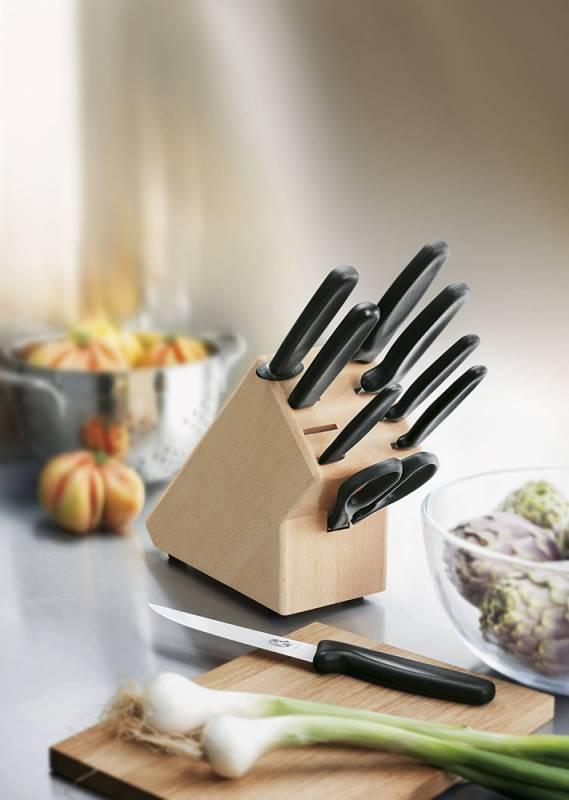 Набор кухонных ножей Victorinox Standart черный (5.1193.9) - фото 2