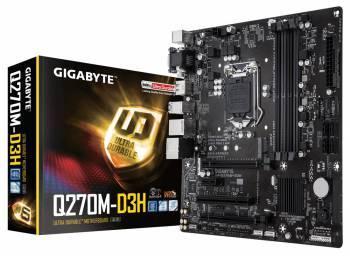 Материнская плата Gigabyte GA-Q270M-D3H Soc-1151 mATX