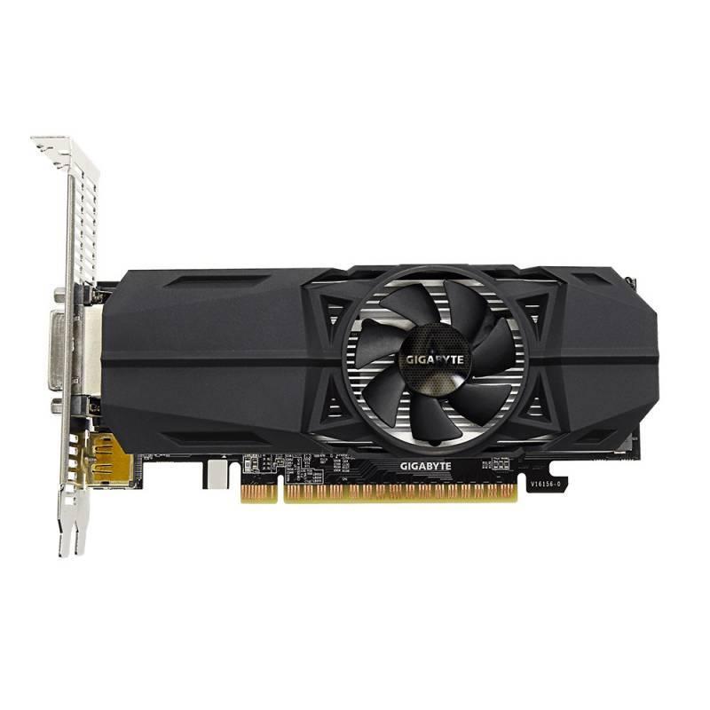 Видеокарта Gigabyte GeForce GTX 1050TI D5 4GL OC 4096 МБ (GV-N105TOC-4GL) - фото 2