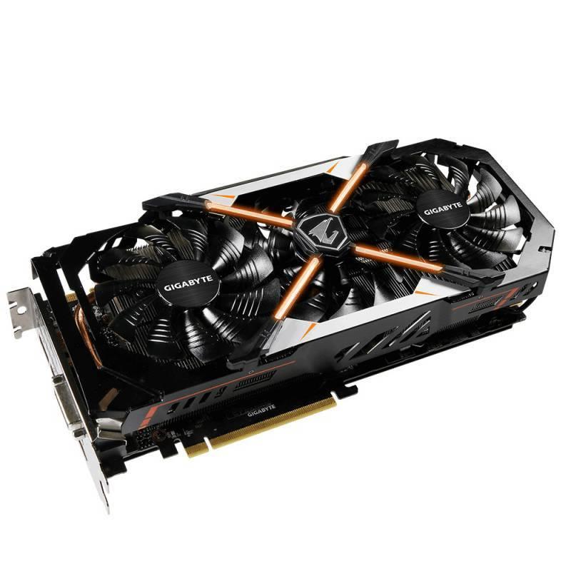 Видеокарта Gigabyte GeForce GTX 1070 AORUS 8192 МБ - фото 2