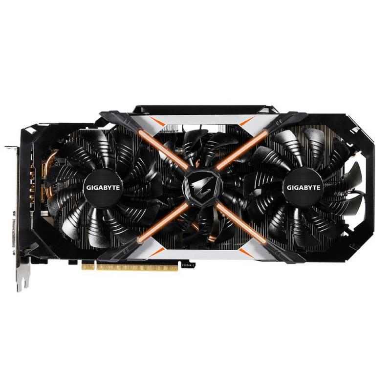 Видеокарта Gigabyte GeForce GTX 1070 AORUS 8192 МБ - фото 3