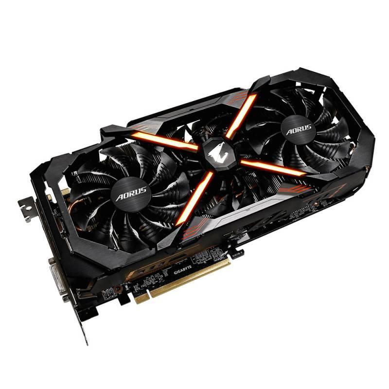 Видеокарта Gigabyte GeForce GTX 1080 Ti AORUS X-11G 11264 МБ (GV-N108TAORUS X-11GD) - фото 2