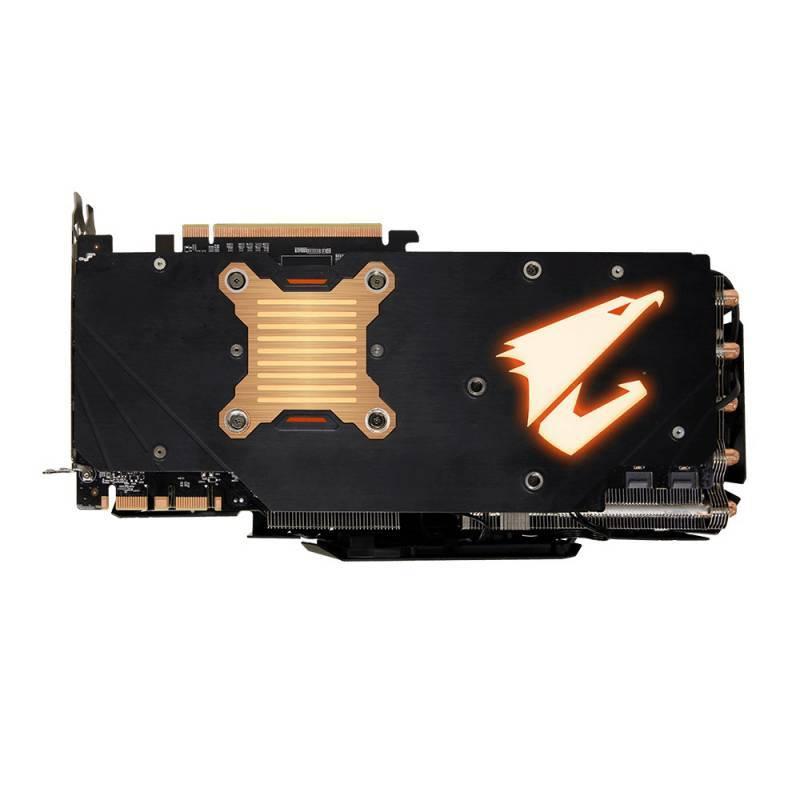 Видеокарта Gigabyte GeForce GTX 1080 Ti AORUS X-11G 11264 МБ (GV-N108TAORUS X-11GD) - фото 4