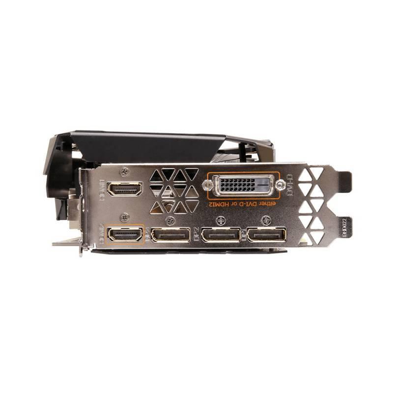 Видеокарта Gigabyte GeForce GTX 1080 Ti AORUS-11G 11264 МБ (GV-N108TAORUS-11GD) - фото 6