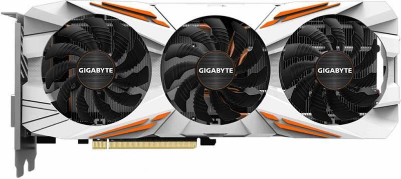 Видеокарта Gigabyte GeForce GTX 1080 Ti GAMING-11G 11264 МБ (GV-N108TGAMING OC-11GD) - фото 2