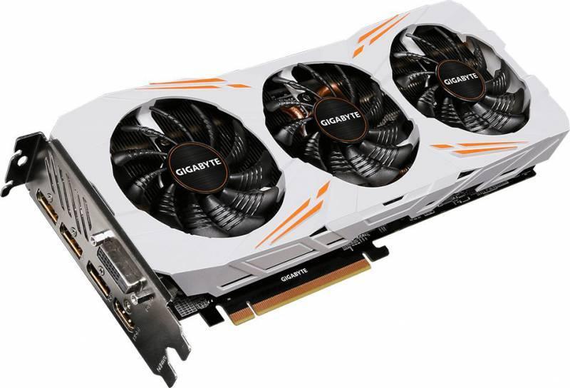 Видеокарта Gigabyte GeForce GTX 1080 Ti GAMING-11G 11264 МБ (GV-N108TGAMING OC-11GD) - фото 3