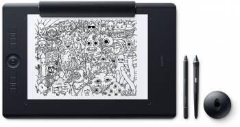 Графический планшет Wacom Intuos Pro Paper PTH-860P-R черный