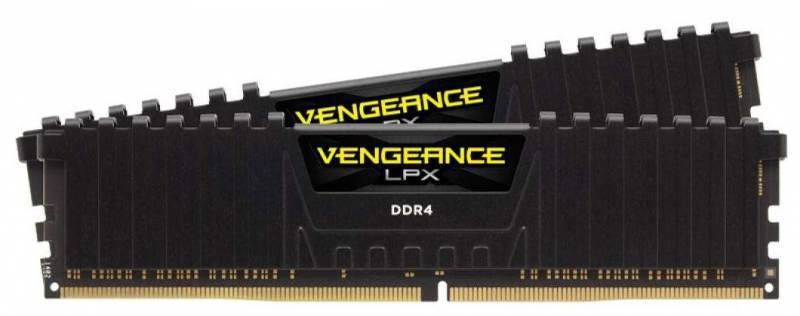 Модуль памяти DIMM DDR4 2x16Gb Corsair (CMK32GX4M2Z2400C16) - фото 1