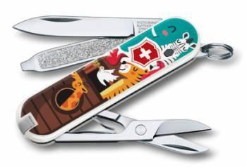 Нож перочинный Victorinox Classic The Ark (0.6223.L1703)