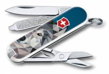 Нож перочинный Victorinox Classic The Wolf is Coming Home (0.6223.L1704)
