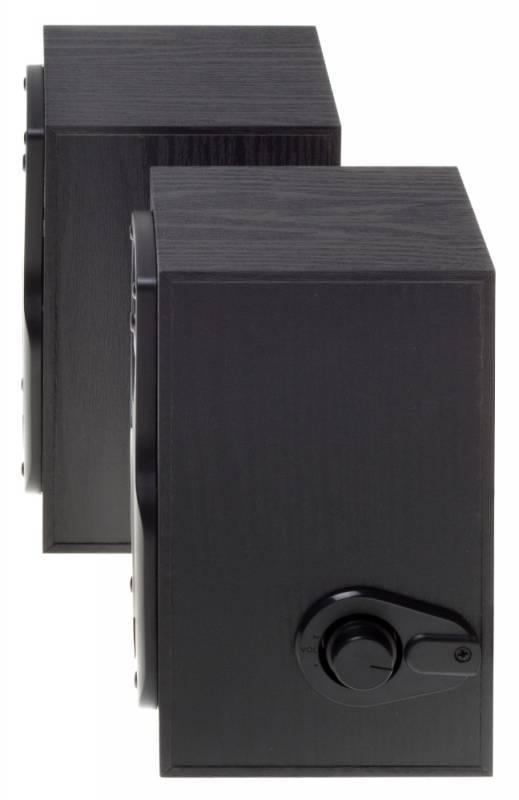 Колонки Oklick OK-162 черный 2.0 - фото 3
