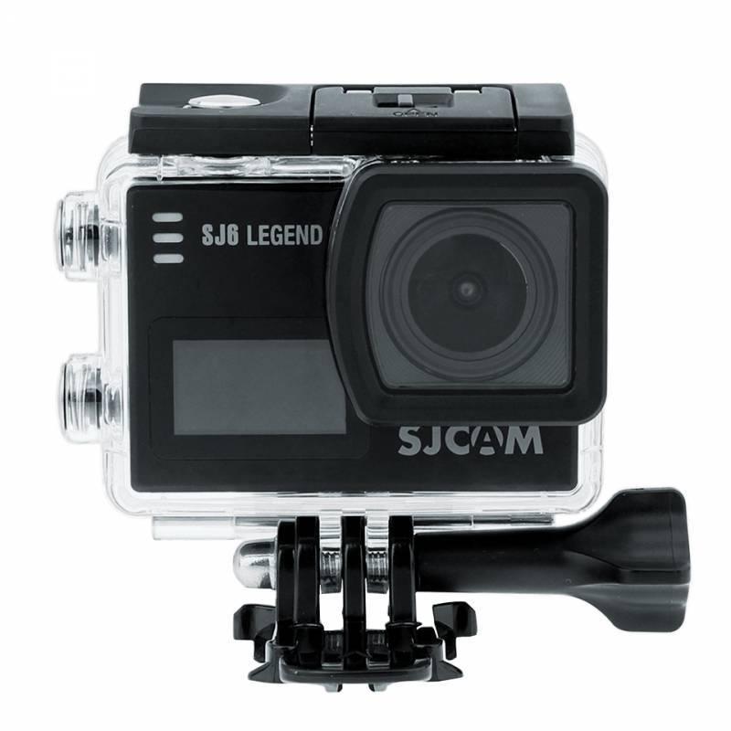 Экшн-камера SJCam SJ6 Legend черный - фото 7
