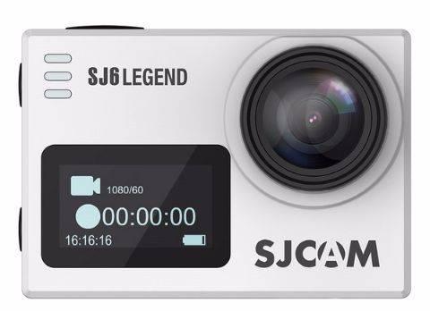 Экшн-камера SJCam SJ6 Legend серебристый - фото 1