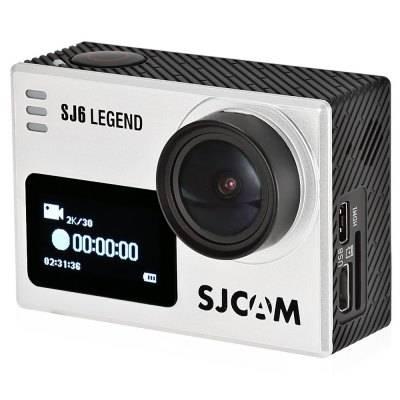 Экшн-камера SJCam SJ6 Legend серебристый - фото 2
