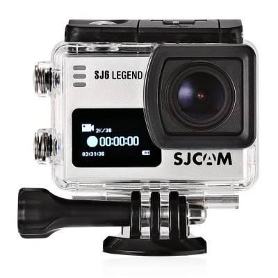 Экшн-камера SJCam SJ6 Legend серебристый - фото 3