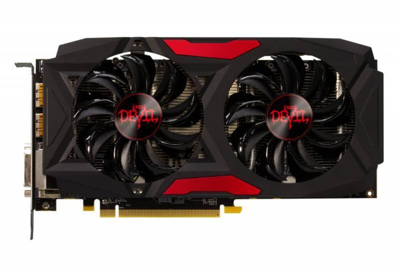Видеокарта PowerColor Red Dragon RX 580 8GB GDDR5 8192 МБ (AXRX 580 8GBD5-3DHD/OC) - фото 1