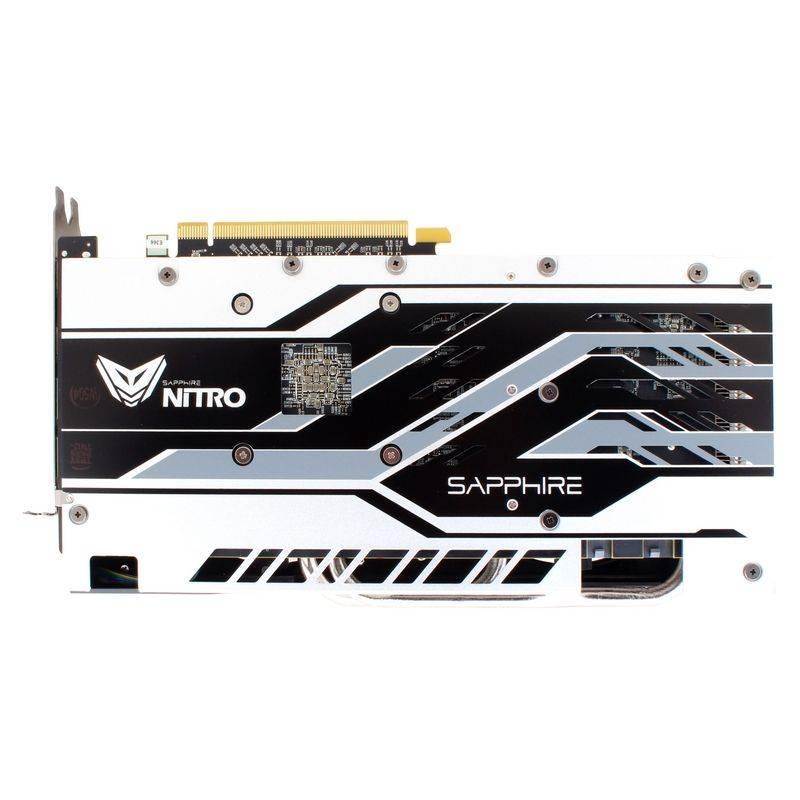 Видеокарта Sapphire NITRO+ RX 580 4G 4096 МБ (11265-07-20G) - фото 4