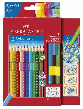 Карандаши цветные Faber-Castell Grip 2001 12цв. (201396)