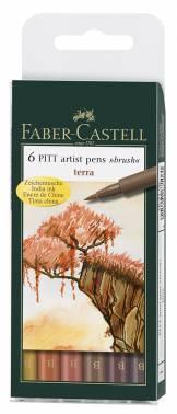 Набор ручек капиллярных Faber-Castell PITT ARTIST PEN (167106)