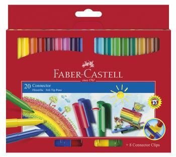 Фломастер Faber-Castell 155520 20цв.