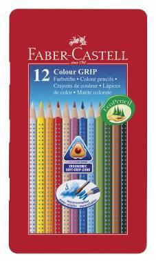 Карандаши цветные Faber-Castell GRIP 2001 112413 12цв.