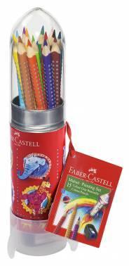 Карандаши цветные Faber-Castell Grip 112457 15цв.