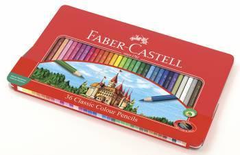 Карандаши цветные Faber-Castell Замок 115886 36цв.