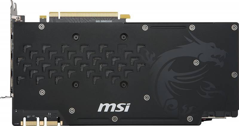 Видеокарта MSI GTX 1080 Ti GAMING X 11G 11264 МБ - фото 5