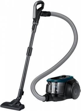 Пылесос Samsung VC18M21C0VN зеленый/черный, мощность 1800Вт, уборка: сухая, объем пылесборника 1.5л, мощность всасывания 380Вт, регулировка мощности на корпусе, длина шнура 6м