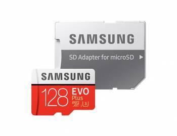 Карта памяти microSDXC 128Gb Class10 Samsung EVO PLUS 2 MB-MC128GA / RU