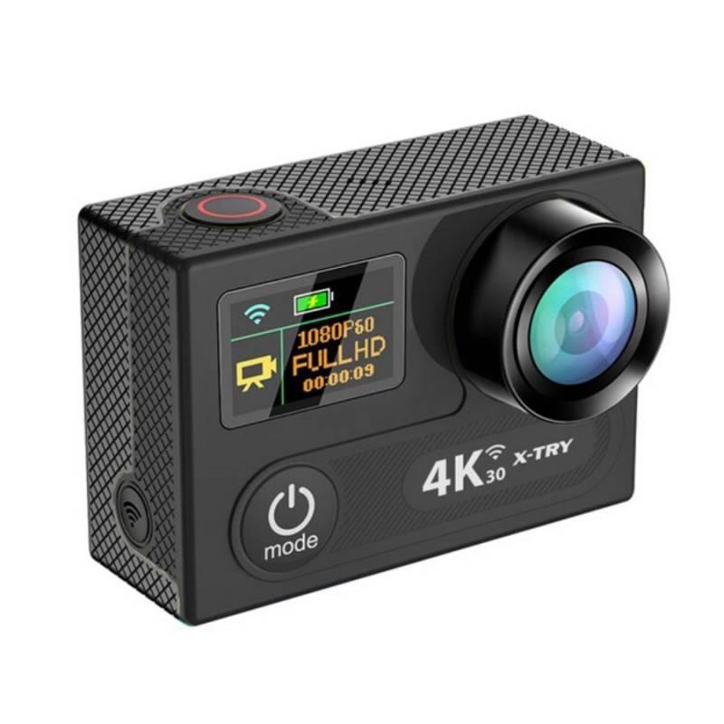 Экшн-камера X-Try XTC220B черный - фото 1