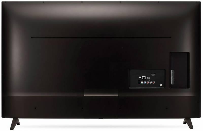 """Телевизор LED 55"""" LG 55UJ630V черный - фото 4"""