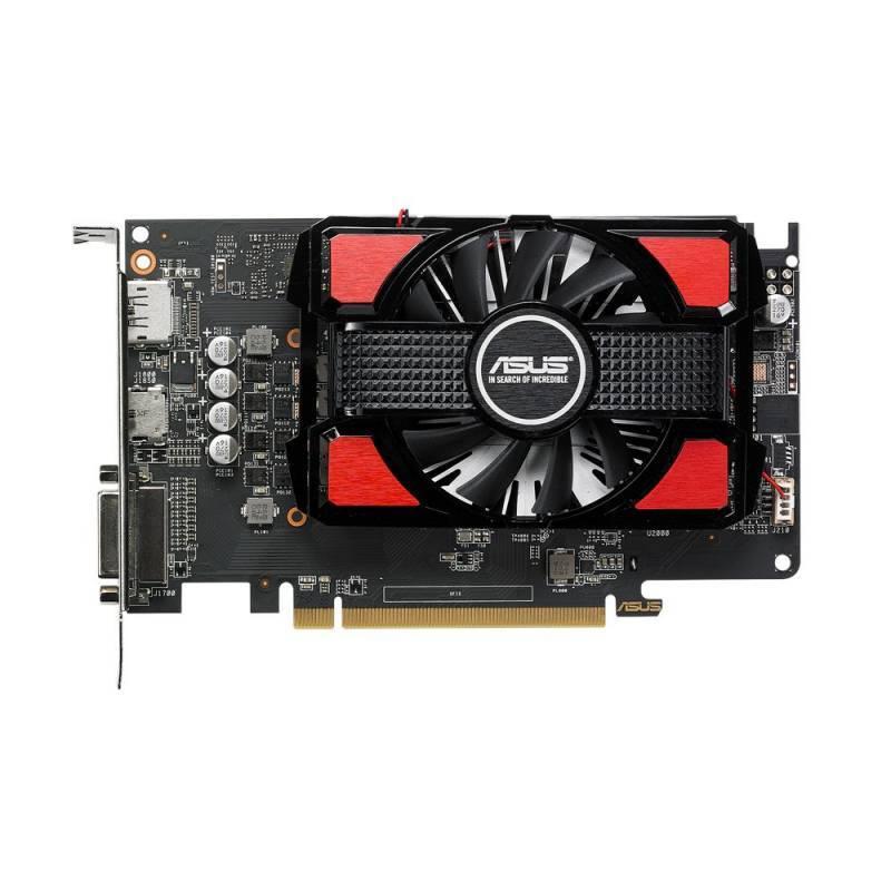 Видеокарта Asus Radeon RX 550 4096 МБ (RX550-4G) - фото 1