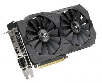 Видеокарта Asus ROG-STRIX-RX570-O4G-GAMING 4096 МБ