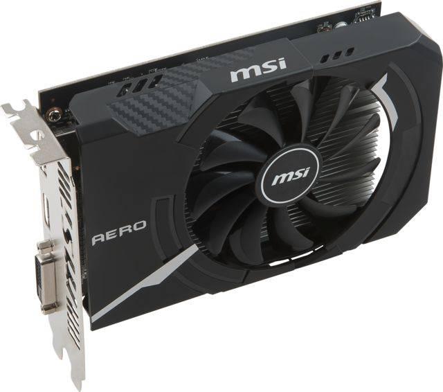 Видеокарта MSI RADEON RX 550 AERO ITX 2G OC 2048 МБ (RX 550 AERO ITX 2G OC) - фото 3