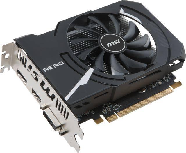 Видеокарта MSI RADEON RX 550 AERO ITX 2G OC 2048 МБ (RX 550 AERO ITX 2G OC) - фото 6