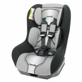 Автокресло детское Nania Driver FST (pop black) серый / черный
