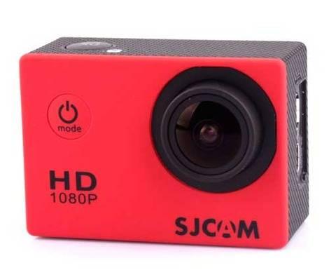 Экшн-камера SJCam SJ4000 красный - фото 1