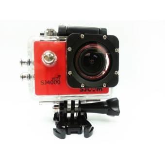 Экшн-камера SJCam SJ4000 красный - фото 2