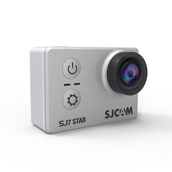 Экшн-камера SJCam SJ7 Star серебристый - фото 1