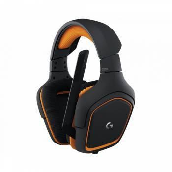 Наушники с микрофоном Logitech G231 Prodigy черный / оранжевый