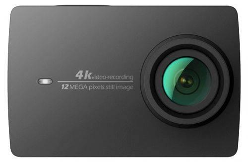 Экшн-камера Xiaomi YI 4K черный - фото 1