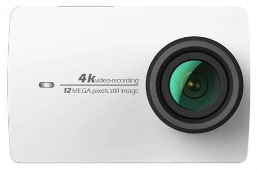 Экшн-камера Xiaomi YI 4K белый - фото 1