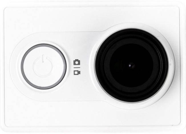 Экшн-камера Xiaomi YI Basic Edition белый - фото 2